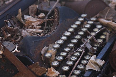 Rusty Typewriter