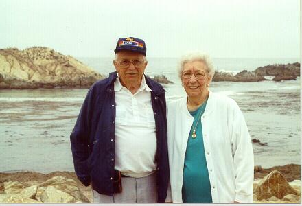 One of my favorite pictures of Bill & Helen (Mom & Dad) taken in Monterey, CA