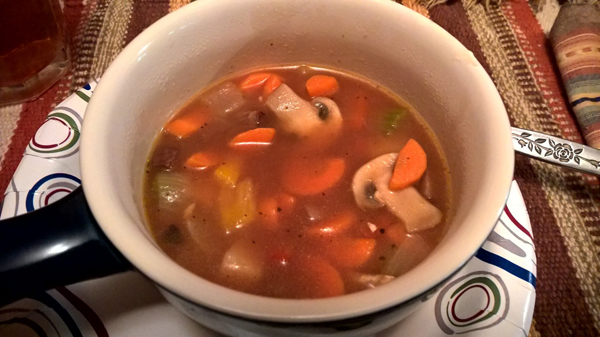 Steak Veg Soup